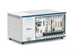PXIe-Gehäuse NI PXIe-1078 9-Slot-PXIExpress-Hybrid-Chassis mit AC-Netzteil