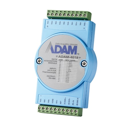 ADAM-4018+-BE (+Modbus) - Remote I/O Modul