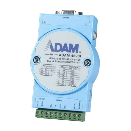 ADAM-4520I-AE - RS232/422/485 Konverter isolierter RS232->RS422/485-Wandler f. erw. Temp.
