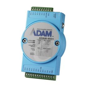ADAM-6024-A1E - Ethernet Remote-I/O-Modul 12-Kanal-Multi-E/A-Modul via Ethernet