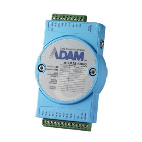 ADAM-6060-CE Ethernet Remote-I/O-Modul 6 Kanal Digital-Eingangs & 6 Relais-Modul