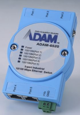 ADAM-6520-BE - Unmanaged Switch