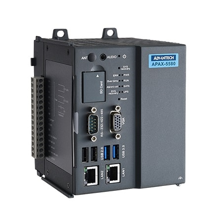 APAX-5580-474AE Embedded-Controller DIN Rail Controller mit Intel® Core™ i7 Prozessor