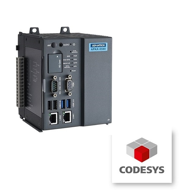 APAX-5580CDS-433AE CODESYS PLC-Steuerung Controller mit Intel® Core™ i3+WinEmd7/engl+64GB