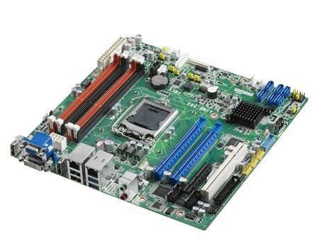 ASMB-584G2-00A1E - MicroATX Server Mainboard für Industrie Server mit Haswell-Xeon-CPUs