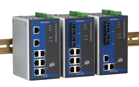 EDS-508A - Managed Switch 8-Port Industrial Managed Ethernet Switch