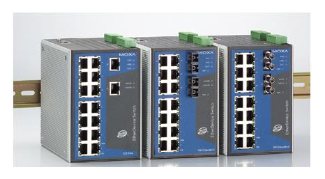 EDS-516A-MM-SC - Managed Switch 14+2-SC-Multi-LWL-Ind.-Managed-Ethernet-Switch