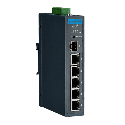 EKI-2706G-1GFP-AE - Unmanaged PoE Switch