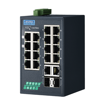 EKI-5626C-PN-AE - Managed Feldbus Switch