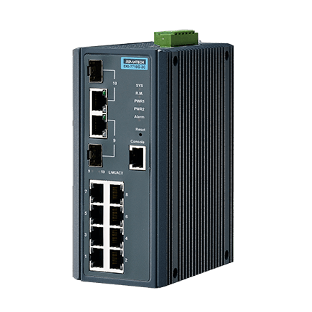 EKI-7710G-2C-AE - Managed Industrie Switch