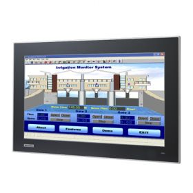 "FPM-7181W-P3AE - Widescreen Industrie Display 18,5"" Monitor mit kapazitiven Touch, VGA/DVI, IP66"