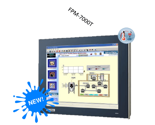 FPM-7121T-R3AE - True-Flat Industrie Display
