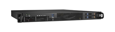 "HPC-7120-00XE - 19"" Rack IPC Server Gehäuse 1HE Chassis für ATX-Serverboards mit 2xHDD-Trays"