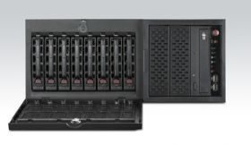 HPC-7480-66A1E - IPC Server Gehäuse Tower/Rack-Chassis für EATX-Serverboard m. 8xHDD