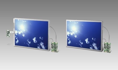 "IDK-1105R-50VGA1E - Display Kit (5,7""; LED; res. Touch; 640x480; LVDS)"