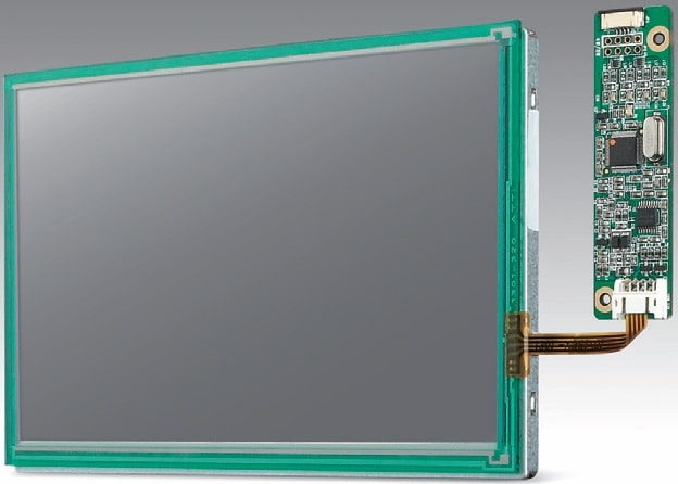 "IDK-1107WR-50WSA1E - Display Kit (7"", 1024x600; LVDS;res. Touch; -20-70°)"