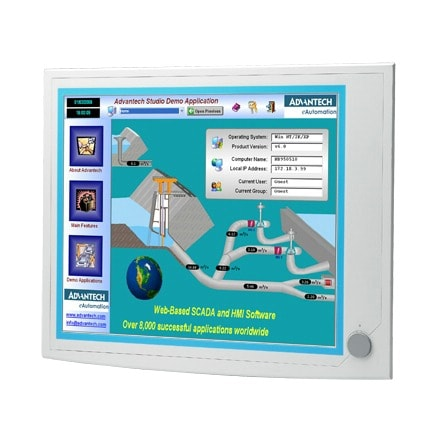 "IPPC-6152A-R2AE - Industrie Touch Panel PC mit 15""-Display für Haswell-i3/5/7-CPU mit 2xPCI"