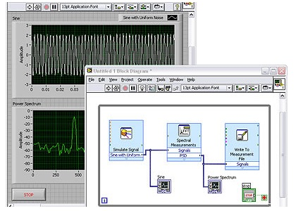 Software NI LabVIEW-Basis Base Development System für Windows (dt., +SSP)