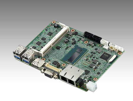 "MIO-5271U-S9A1E - Single Board Computer 3,5""-SBC-Board mit i5-4300U-CPU, DDR3L-Support"