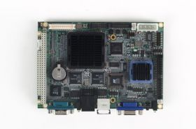 "PCM-9375F-J0A1E - Single Board Computer 3.5"" SBC m. AMD LX800 CPU & TTL-LCD,4COM,4USB,2LAN"