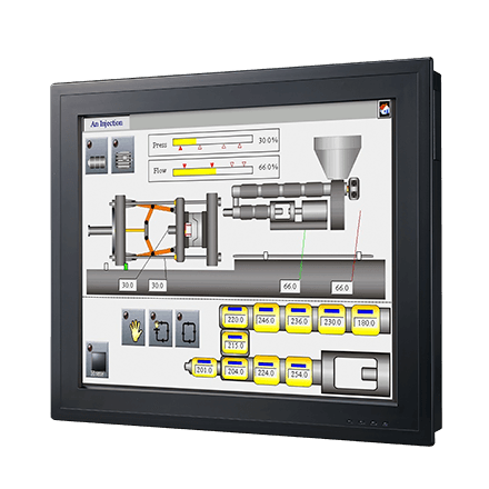 "Vorkonf. Touch Panel PC PPC-3190-RE4AE-BTO30515 m. 19""-Display,E3845-CPU,4GBRAM,250GBHDD,WES7,WLAN"