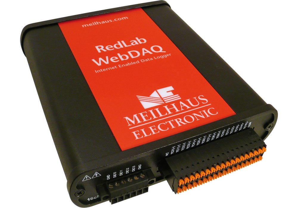 RedLab WebDAQ-316 - Temperatur Datenlogger Internetfähiger Ethernet Thermoelement Datenlogger