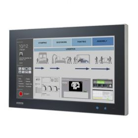 "SPC-1840WP-T3AE- Lüfterloser Widescreen Panel mit 18,5""-Multi-Touch-Display, AMD-CPU, IP65, 4GB"