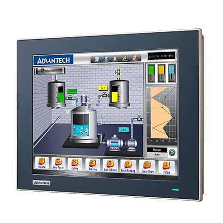 TPC-1251T-E3BE - Lüfterloser Touch Panel IPC