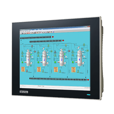 TPC-1282T-533AE - Lüfterloser Touch Panel IPC