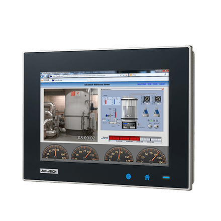 "TPC-1051WP-E3AE - Widescreen Touch Panel IPC mit 10""-Multitouch Display, E3827-CPU,4GBRAM,iDoor"
