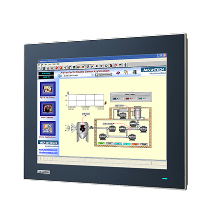 "TPC-1551T-E3BE - Lüfterloser Touch Panel IPC mit 15""-True-Flat-Display, Atom-E3845-CPU, 4GBRAM"