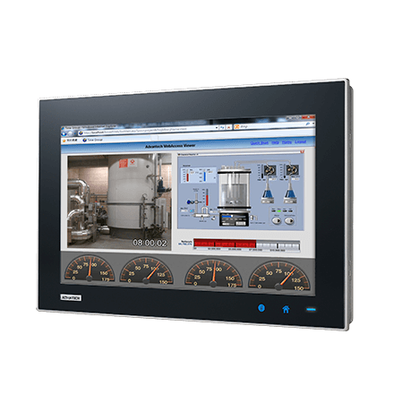 "TPC-1551WP-E3AE - Widescreen Touch Panel IPC m. 15,6""-Multitouch Display,E3827-CPU,4GBRAM,iDoor"