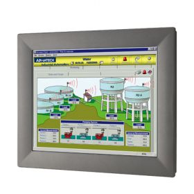 "TPC-1582H-433BE - Lüfterloser Touch Panel IPC mit 15""-Display, i3-4010U-CPU, 4GBRAM & iDoor"
