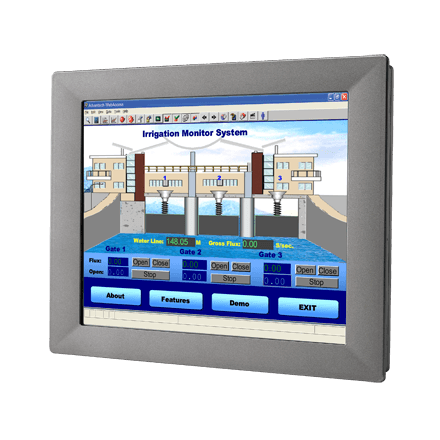 TPC-1750H-N2BE - Lüfterloser Touch Panel IPC