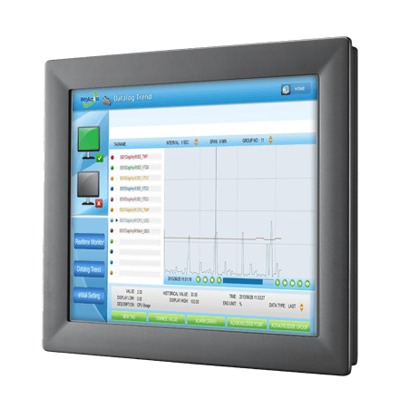 "TPC-1782H-433AE - Lüfterloser Touch Panel IPC mit 17""-Display, i3-4010U-CPU, 4GBRAM & iDoor"