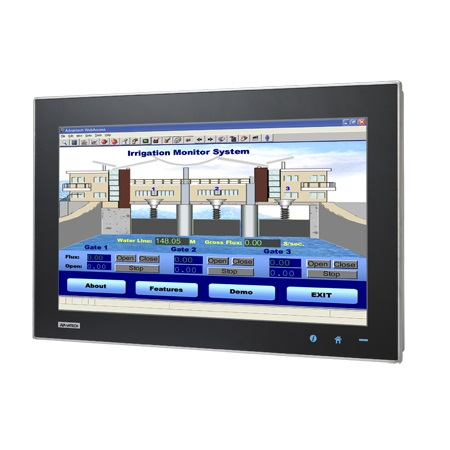 "TPC-1840WP-T3AE - Widescreen Touch Panel IPC mit 18,5""-Multitouch-Display, AMD-CPU & 4GBRAM"