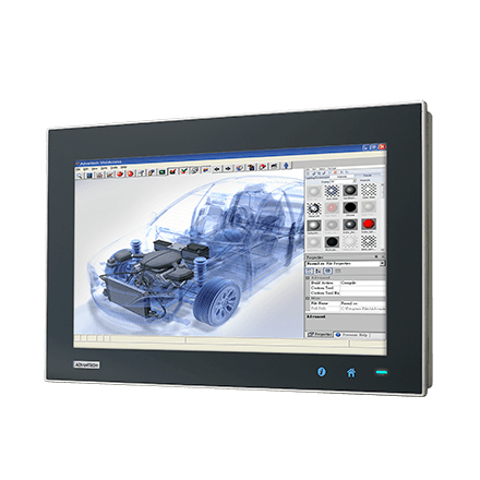 "TPC-1881WP-433AE - Widescreen Touch Panel IPC mit 18,5""-Multitouch Display, i3-CPU,4GBRAM& iDoor"