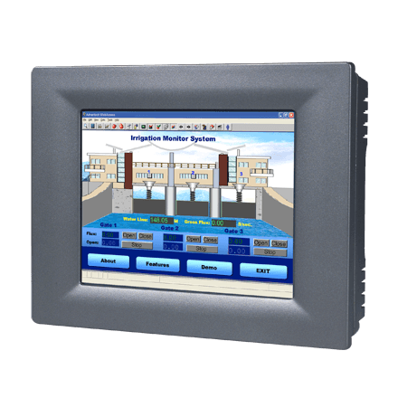 "TPC-61T-E3AE - Lüfterloser Touch Panel IPC mit 5,7""-Display, TI-600MHz-CPU & WinCE 6.0"