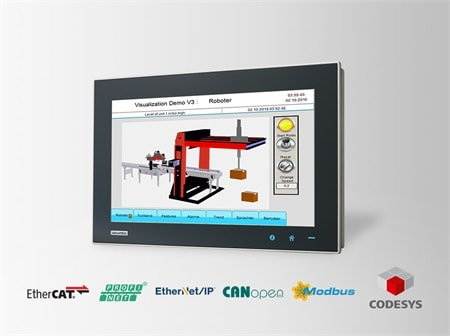 "WA-CT1581W-3RHE5AE - CODESYS Panel Starter-Kit mit 15,6"" WXGA-Touch IPC &  CODESYS Runtime Softw."