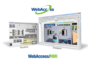 Open HMI-Software WebAccess/HMI 2.1 mit 1500 Tags