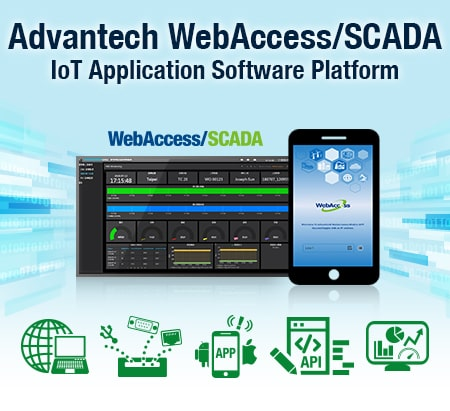 Software WebAccess 8.4 Professional für 150 Tags Browserbasierte HMI/SCADA Software mit USB-Dongle