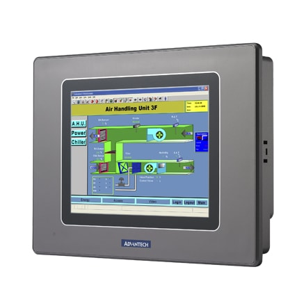 "WebOP-2050T-S1 Operator-Panel / HMI-Bedienterminal 5,6""-WQVGA-Touch-Display &  NAND+NOR & RS232/485"