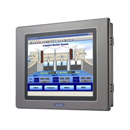 "WebOP-2080T-N2 Operator-Panel / HMI-Bedienterminal 8""-WSVGA-Touch-Display& NAND+NOR+LAN & RS232/485"