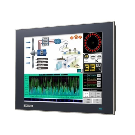 "WebOP-3120T-C4AE Operator Panel /  Bedienterminal 12""-WVGA-Touch-Display, Cortex-CPU & WinCE 6.0"