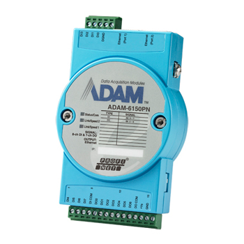 Mess- und Steuermodule via Ethernet ADAM-6000 Serie