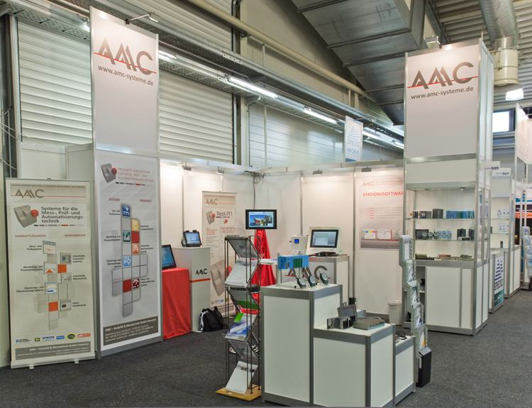 "AMC Messestand zur ""all about automation 2015"" in Leipzig"