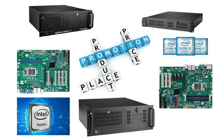 IPC-Promotion vorkonfigurierter Rack-IPCs mit neusten Intel Core 6. Generation CPUs