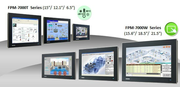 "Widescreen Displays ab 15"" mit Multi-Touch für die Automation"