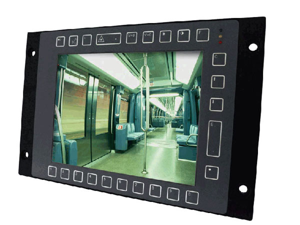 Touch Panel PC TPC-8100TR Frontansicht
