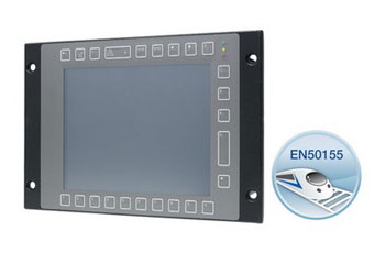 EN50155-zertifizierter Touch Panel PC TPC-8100TR